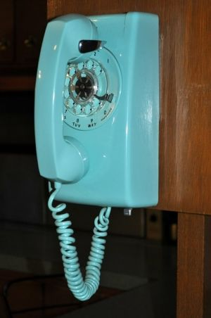 Kitchen Phone Degin 1960 Dial Wall Also Called The 1960s