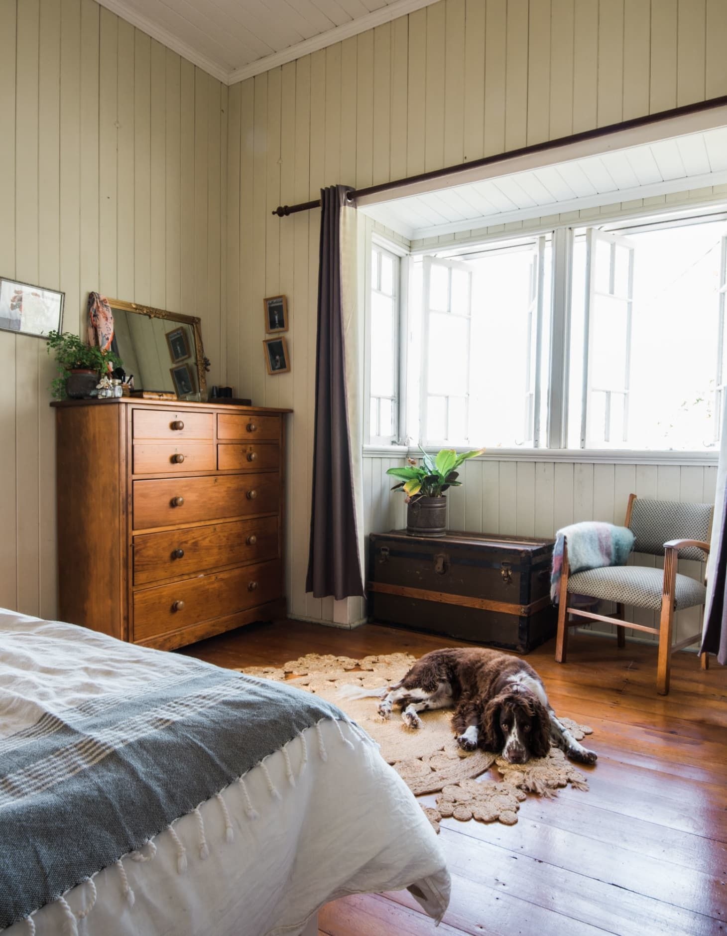 A Warm, Bohemian Country Style Australian Home Country