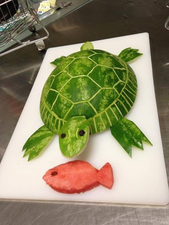 Easy turtle and fish from alcoa tennessee essen deko for Deko essen
