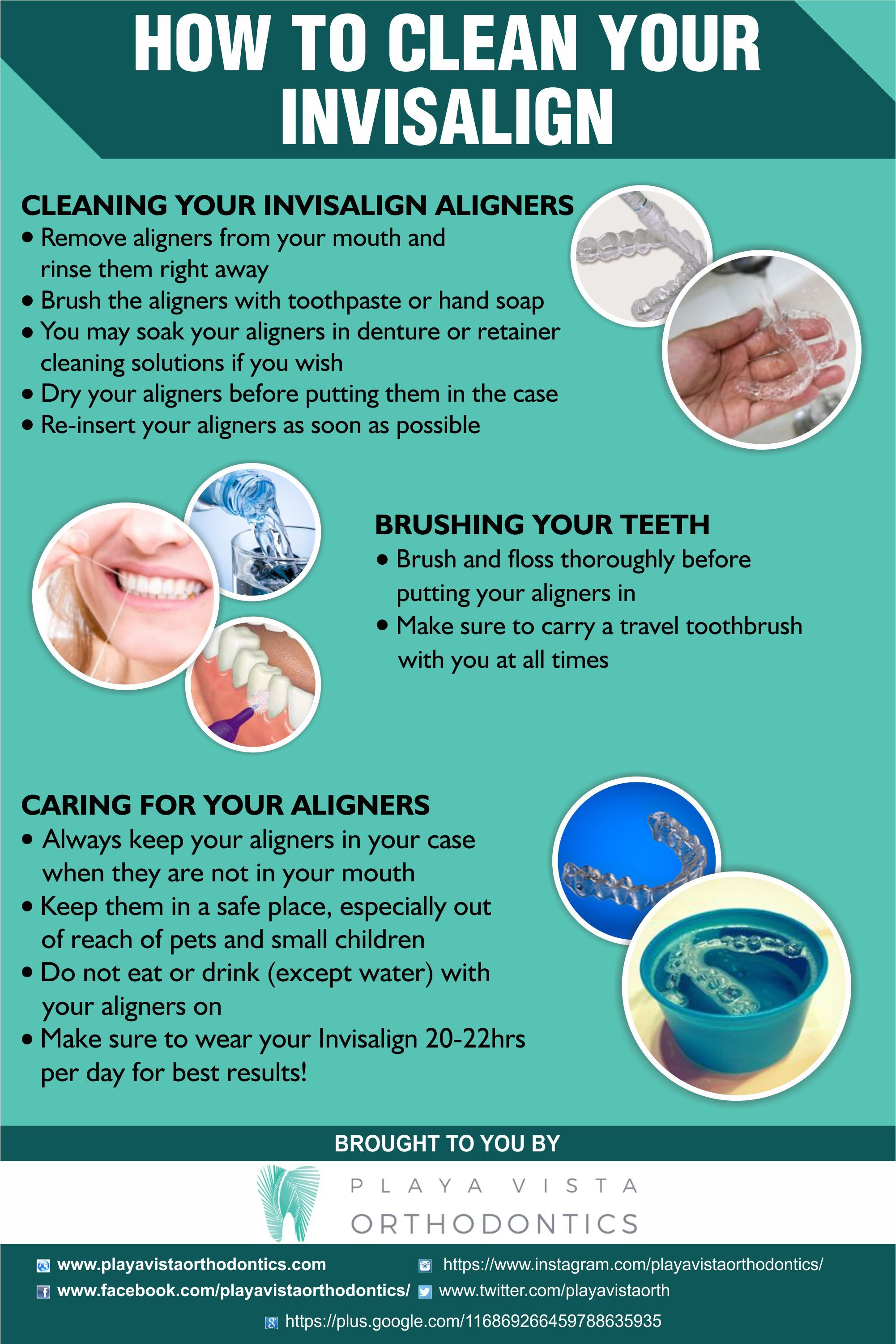 how to clean invisalign retainers with cleaning crystals