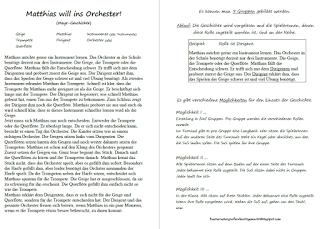 Fächerübergreifend leicht gemacht: Instrumente - Orchester ...