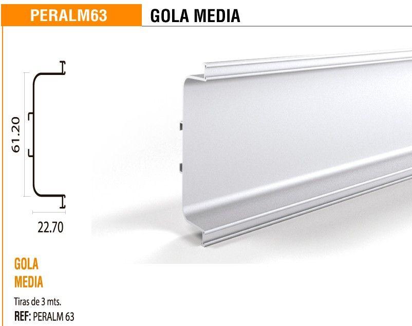 PERFIL GOLA MEDIA X 3M - Madecentro | COCINA | Pinterest | Cocinas