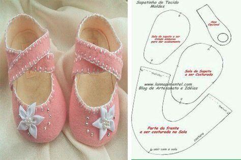 d83b4b462 moldes-y-modelos-para-hacer-zapatillas-de-tela-para-bebes-7 ...
