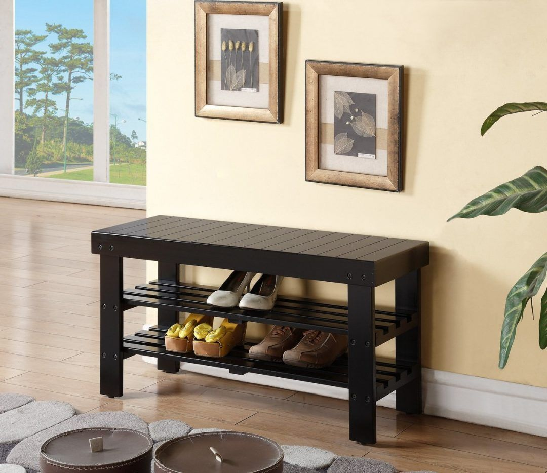 10 Shoe Storage Benches Perfect for an Entryway | Shoe ...