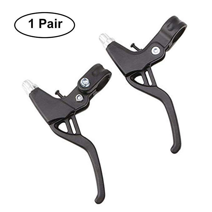 Alloy Brake Levers Metal 2finger Mountain Cycling Bike Bicycle For MTB Brake