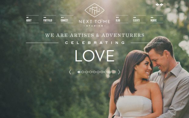 Wedding Websites Ideas: Wedding And Lifestyle Photographers