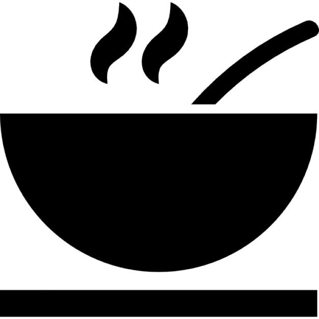 33+ Soup bowl clipart black and white information