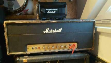 Marshall JMP50 original 1975!! in Bayern - Sulzbach-Rosenberg | Musikinstrumente und Zubehör gebraucht kaufen | eBay Kleinanzeigen