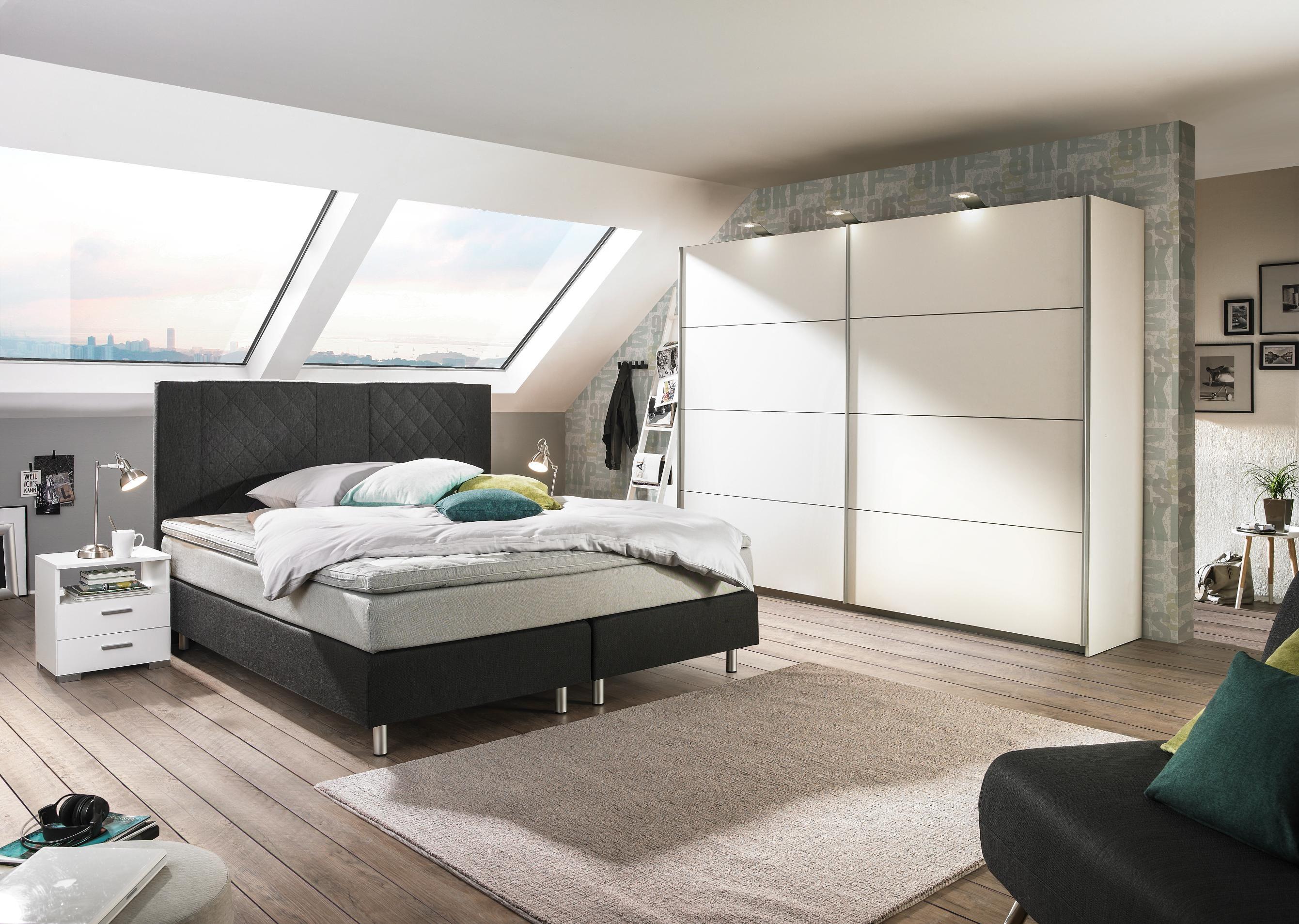 Xxxlutz Schlafzimmer ~ Bett in grau von ambia home macht ihr schlafzimmer zum palast