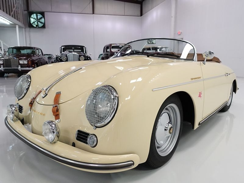 the 1957 beck porsche 356 speedster featured here is finished in gorgeous harvest moon beige. Black Bedroom Furniture Sets. Home Design Ideas