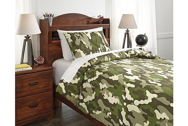 Kids Bedding | Camo Dagon 2 Piece Twin Comforter Set | Ashley Furniture  HomeStore | Arkansasu0027 Largest Furniture HomeStore | Come By And See Us In  Bryant, ...
