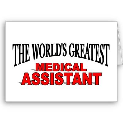 The WorldS Greatest Medical Assistant Greeting Cards  Cool Gifts
