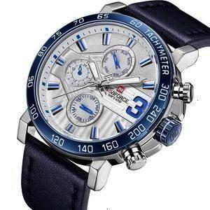 Leather Quartz Date 6 dial Watch Casual Sports  shopzone Source by shopzonemania fashion casualMen Fashion Leather Quartz Date 6 dial Watch Casual Sports  shopzone Source...