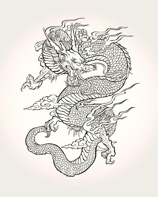 Colorear   Art   Pinterest   Colorear, Tatuajes y Dragones