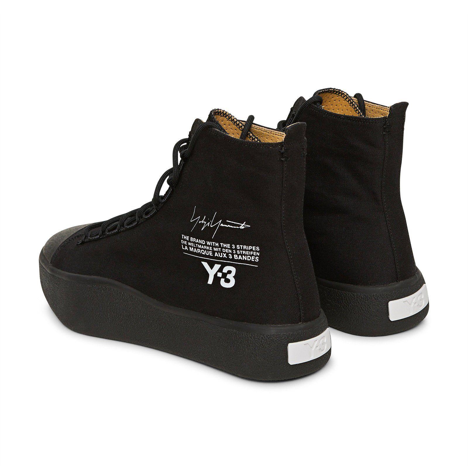 Bashyo scarpe nucleo nero / nucleo bianco calzature alte e adidas