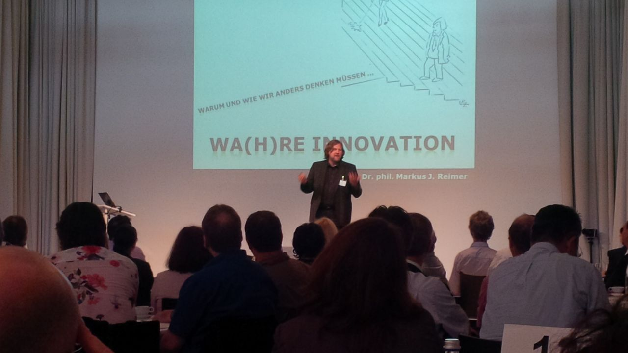 "Vortrag ""Wa(h)re Innovation"", DQS Kundentag Juni 2014 in"
