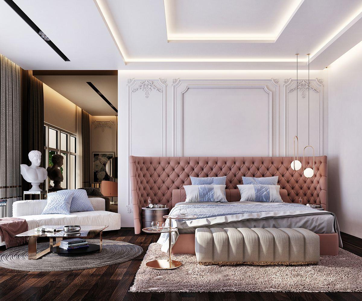 luxury Master bedroom .. on Behance luxurymasterbed   Luxury ...