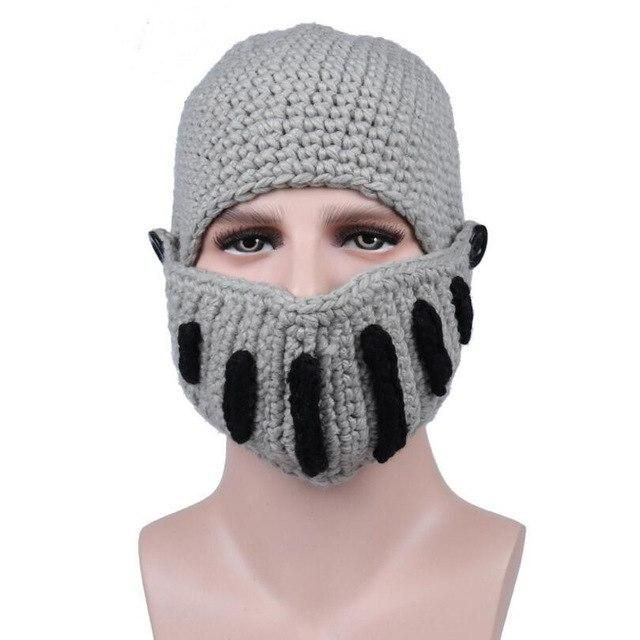 Visnxgi Knitting Women Men Balaclava Octopus Roman Knight Beard Hat Crochet Bean#hair #love  #style  #beautiful  #Makeup #SkinCare #Nails #beauty #eyemakeup #style #eyes #model #MakeupMafia #NaturalBeauty #OrganicBeauty #crochetedbeards