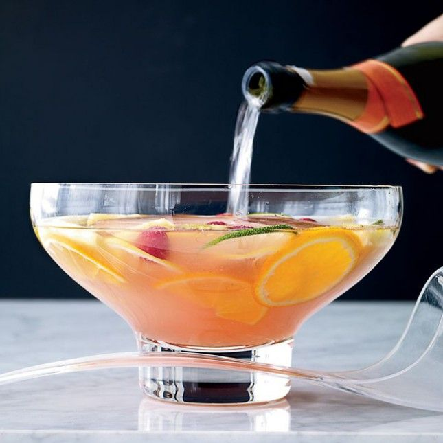 Gin Punch Alcohol Liquor Fruit Food Wine