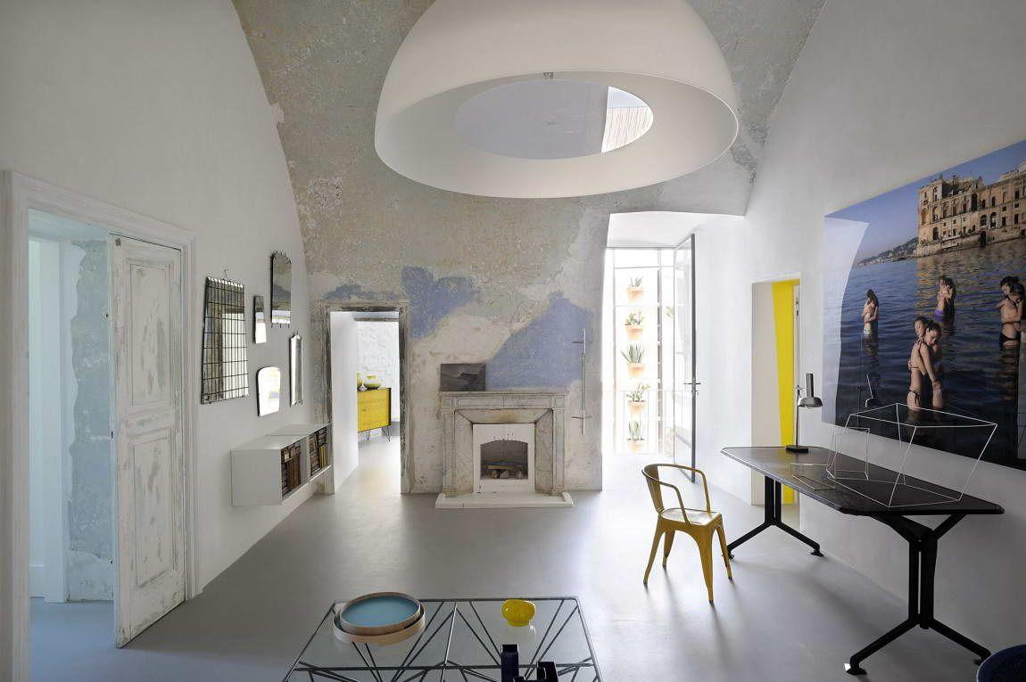 Сюита Капри (Capri Suite) в Италии от Zetastudio.