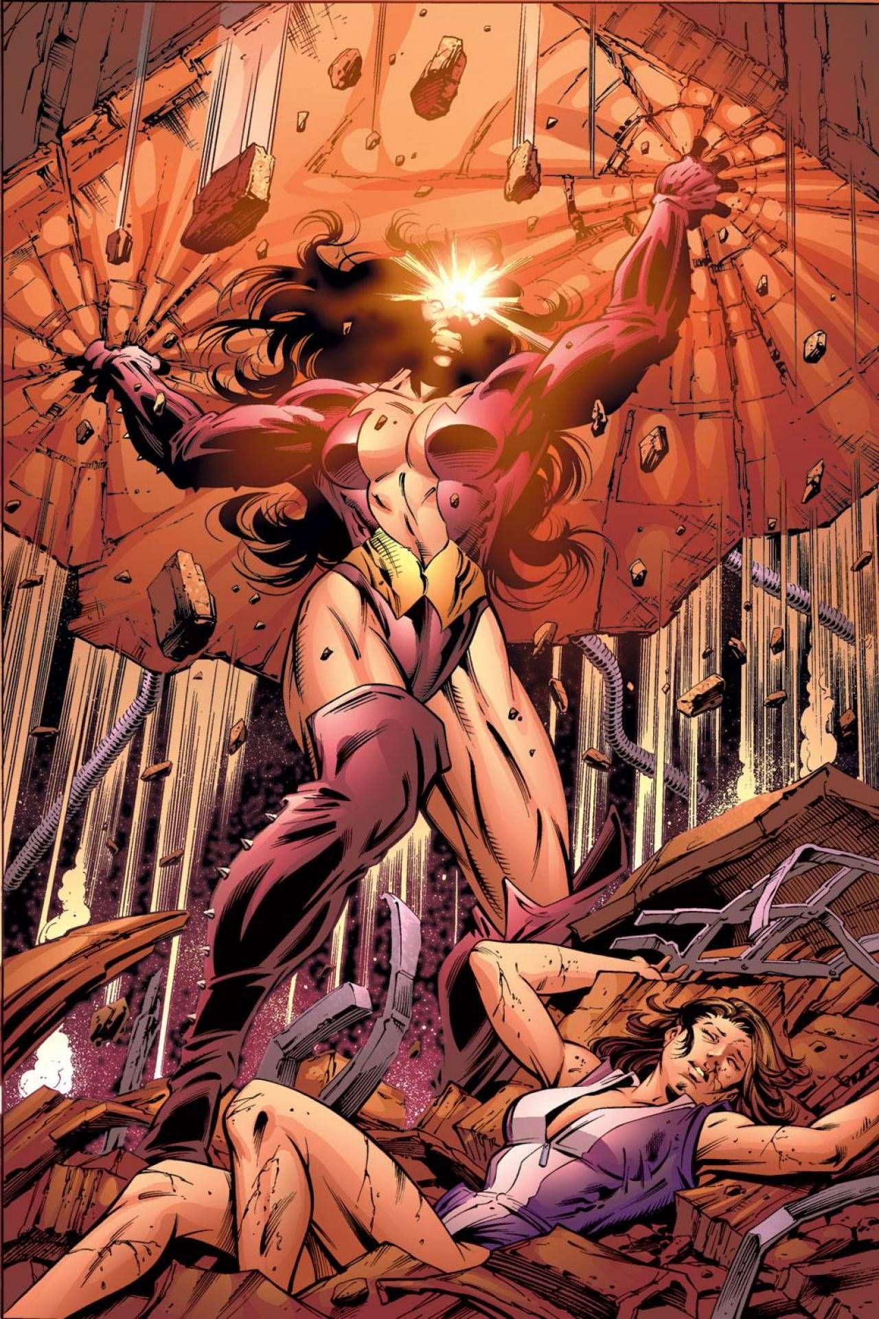 titania masters of evil women marvel pinterest
