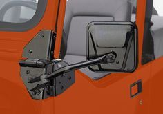 Jeep Accessory Rampage Jeep Wrangler Black Powdercoat Side Mirrors Cj Yj Jeep Wrangler Jeep Yj Jeep