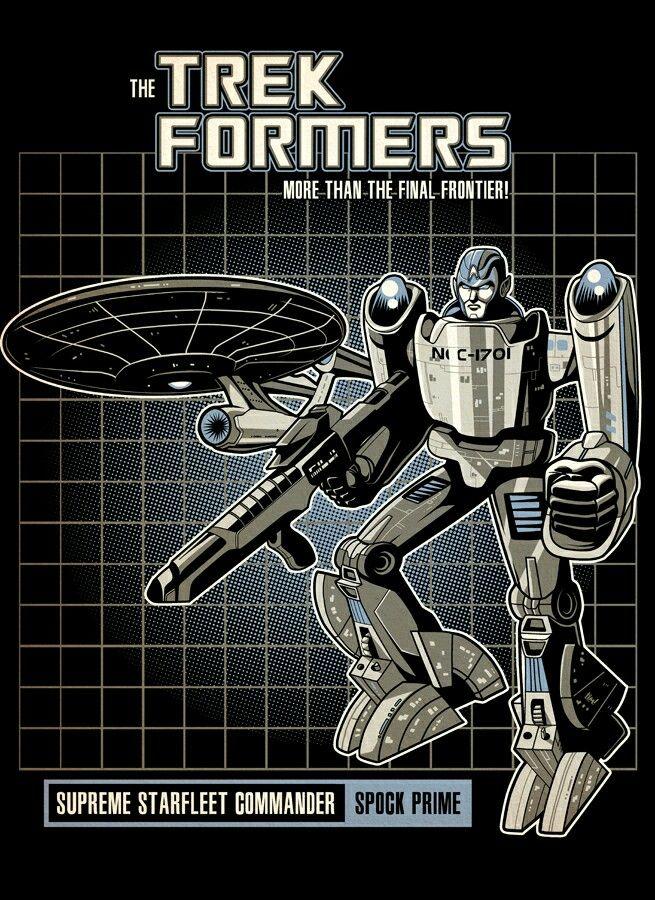 Spock Prime Enterprise Transformer Star Trek Games