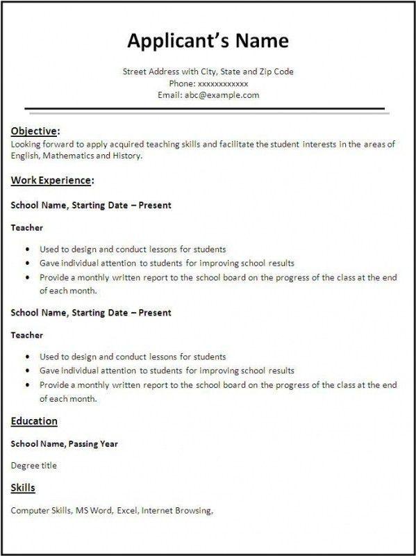 Waitress Sample Resume 8 Waitress Resume Uxhandycom Ux Handy Sampleresume Sampleofwaitress Teacher Resume Template Sample Resume Templates Job Resume Samples