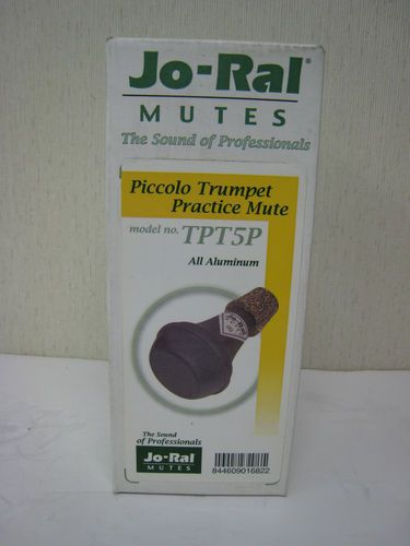 Jo-Ral TPT-5P Aluminum Piccolo Trumpet Practice Mute