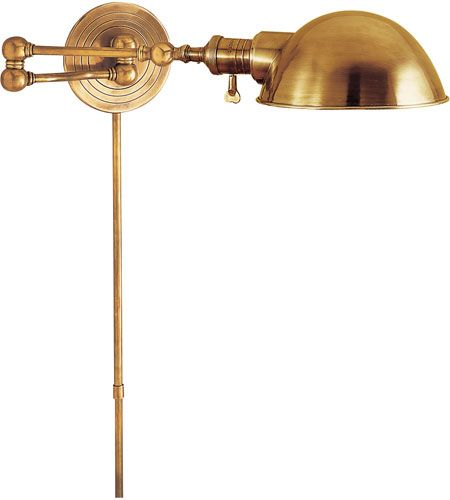 1000 images about lighting on pinterest picture lights swing arm wall lamps and antique brass brass swing arm wall