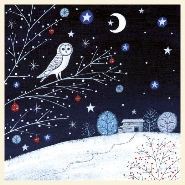 Magic night card by lucy grossmith from the night before christmas magic night card by lucy grossmith from the night before christmas range by museums galleries m4hsunfo