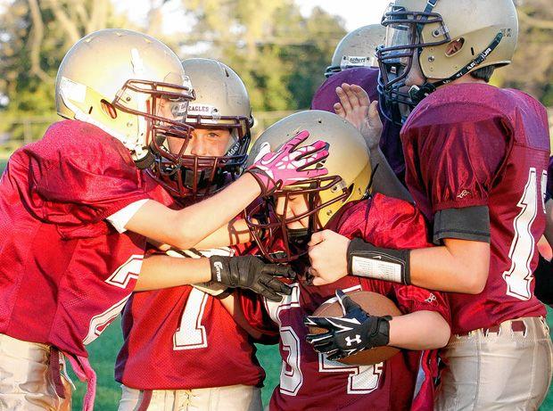 Matty T Carries Away The Moment High School Sports School