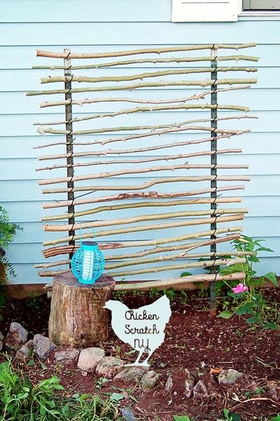 Cheap DIY Garden Trellis