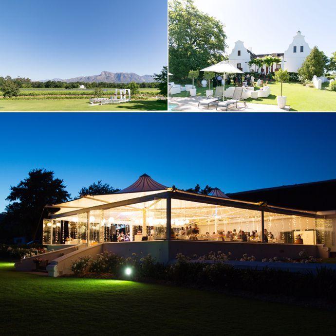 Best Wedding Venues In Franschhoek Western Cape Sa By Pink Book