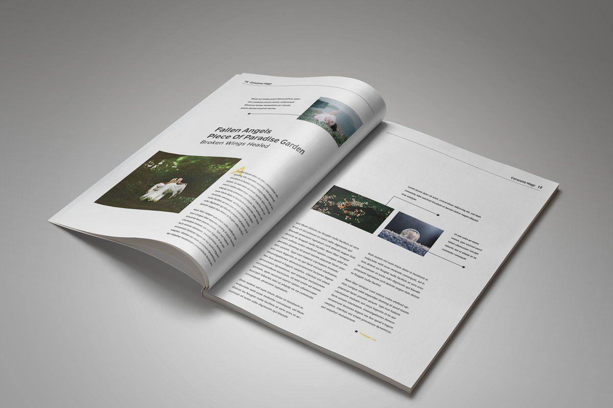 Corazone magazine 2017 edition magazine template