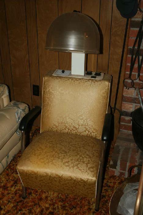 NET Vintage Hair Dryer Chair & Found on EstateSales.NET: Vintage Hair Dryer Chair | Estate Sales ...