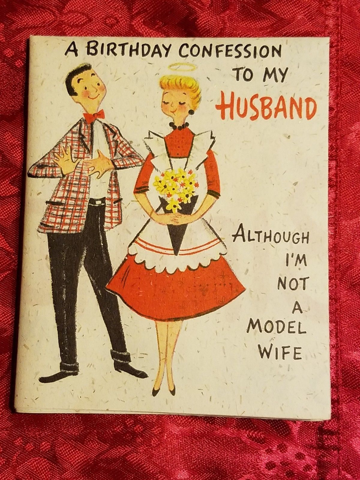 Vintage hallmark birthday husband folds out to poster size card rare vintage hallmark birthday husband folds out to poster size card rare large collectibles paper vintage greeting cards ebay m4hsunfo