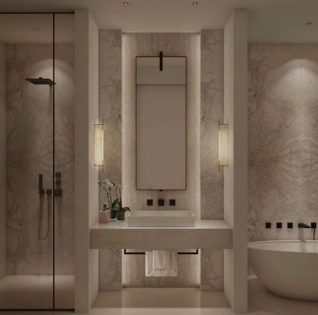 Bathroom Mirrors And Light Fixtures Interior Design Bathroom Shower Tile Decorating Ideas E Bathroom Remodel Master Bathroom Interior Design Bathrooms Remodel