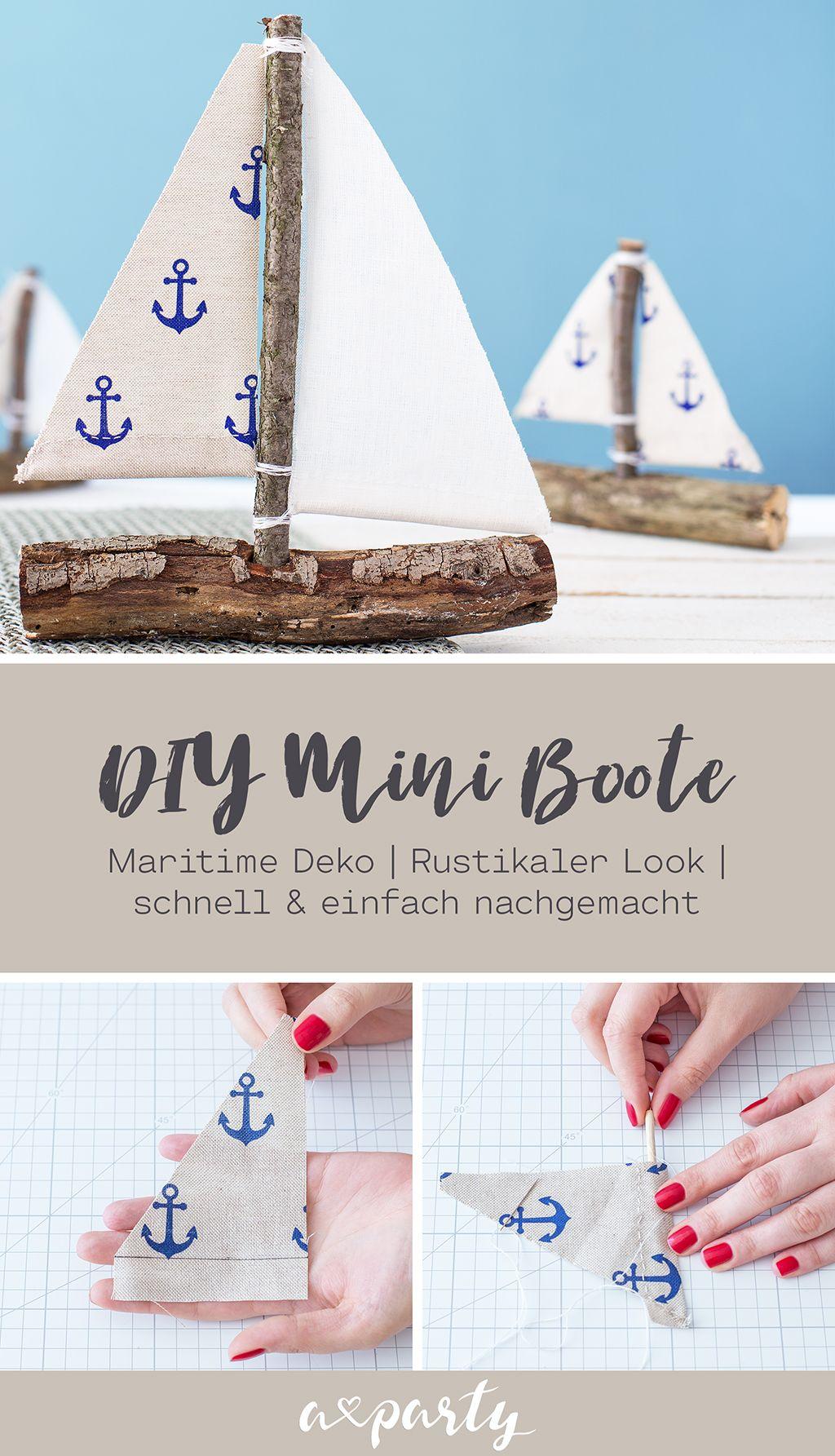 Photo of DIY | Bastelt euch maritime Tischdeko einfach selbst. Wir zeigen euch Schritt f…