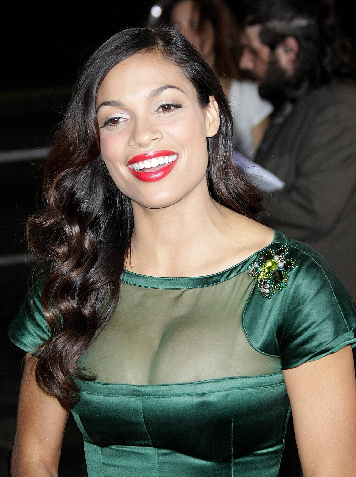 Rosario Dawson Recalls An Embarrassing Moment Of Her With ... Rosario Dawson