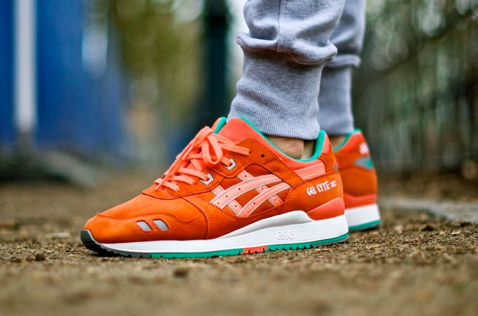 Molestar legal Conciliar  Asics Gel Lyte III '90′s Waterproof Pack – Fresh Salmon | Asics gel lyte iii,  Sneakers, Gel lyte iii