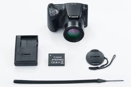 PowerShot SX410 IS Black Refurbished Contents
