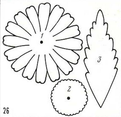 Шаблоны ромашки из фоамирана распечатать, день николая чудотворца