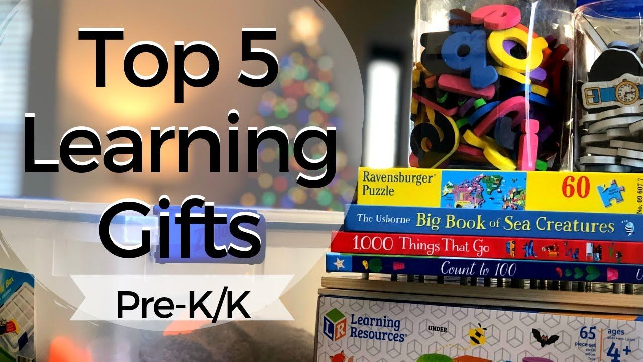 #learningtoys 5 LEARNING TOY IDEAS FOR PRE-K & K ! 2 - 5 ...
