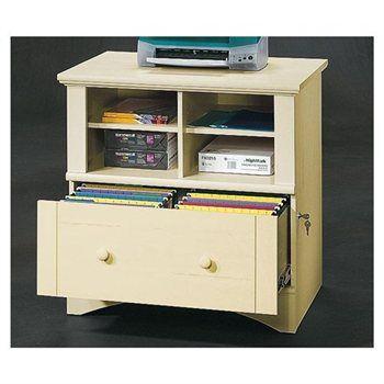 Antiqued Cream Colored File Cabinet Con Imagenes Archivadores Soporte De Impresora Comedor Office