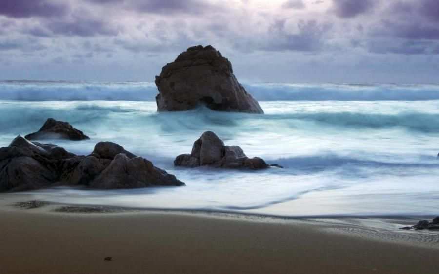 love rocks on the beach
