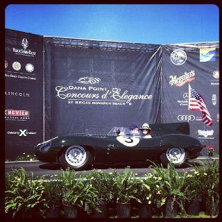 The Spirit of Le Mans award! Dana Pointe Concours