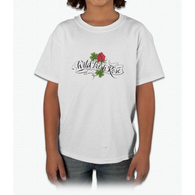 Wild Irish Rose Young T-Shirt
