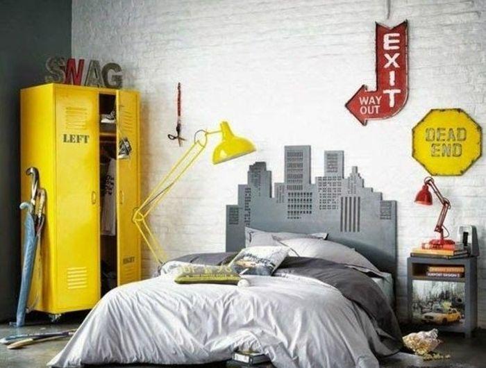 Comment aménager une chambre d\'ado garçon - 55 astuces en photos!