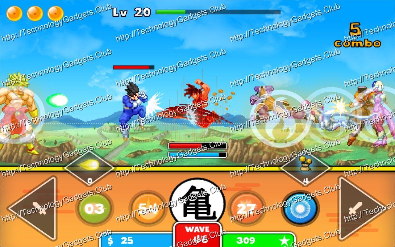 Goku Saiyan Warrior Apk Free This Can Be The Dragon Pastime On